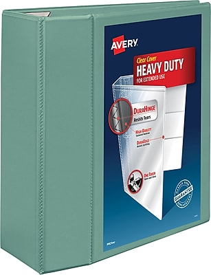 Avery® Heavy-Duty View Binders with One Touch™ EZD® Rings, 5