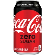 Coca-Cola® Zero Sugar, 12 oz. Cans, 24/Pack