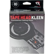 "Read Right Tape Head Kleen Pad, 5""(W) x 5""(L), 80/Box"