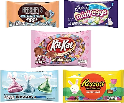 Hershey's Easter Chocolate Assortment Bundle, 5 Pack 2071454