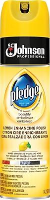 Pledge® Furniture Lemon Scented Polish Spray, 14.2 oz. (301168)