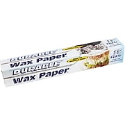 Durable™ Wax Paper Roll, 75 sq.ft. 24/CT (URD75075)