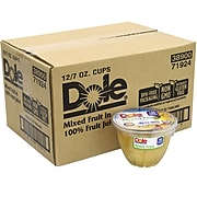 Dole Mixed Fruit in 100% Fruit Juice Cups, 7 oz., 12/Pack (209-02549)