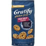 Gratify Gluten-Free Sea Salt Pretzel Thins, 10.5 oz, 6 Pack (209-02569)