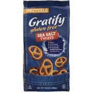 Gratify Gluten-Free Sea Salt Pretzel Twists, 10.5 oz, 6 Pack (209-02570)