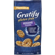 Gratify Gluten-Free Sesame Pretzel Thins, 10.5 oz., 6/Pack (209-02575)