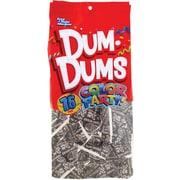 Dum Dums Lollipops, Color Party Silver, Tropi-Berry Flavor, 12.8 oz., 75 Count Bag, 2 Pack (211-00061)