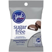 YORK SUGAR FREE Peppermint Pattie Peg Bag, 3 oz, 12 Count (246-01076)