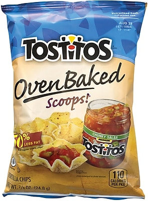Tostitos Oven Baked Scoops Chips, 72 Count (295-00066) 24289086