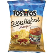 Tostitos Oven Baked Scoops Chips, 7/8 oz., 72/Pack (295-00066)