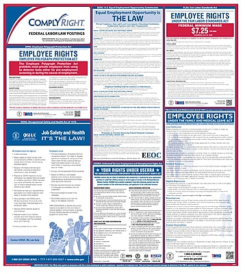 ComplyRight Federal Posters, English