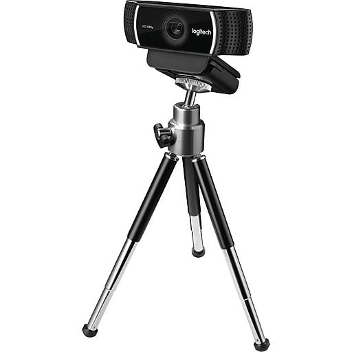 7bab9fe2a1f Logitech C922 Pro Stream Webcam. https://www.staples-3p.com/s7/is/