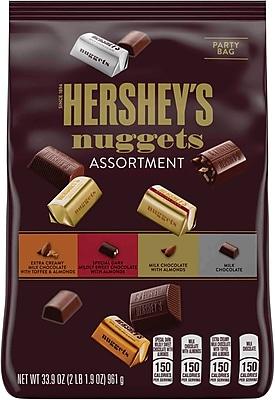 HERSHEY'S NUGGETS Chocolate Assortment, 33.9 oz