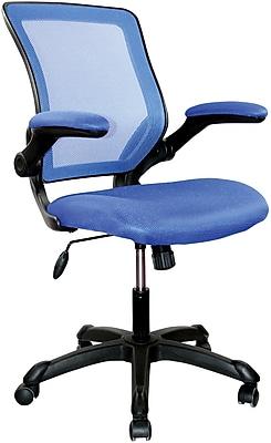 Techni Mobili Mesh Task Chair, Blue