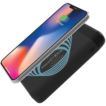 Tzumi Pocket Juice Wireless, 12,000 mAh, Black