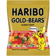Haribo Gold Gummi Bears Bag, 5 oz, 12 Count