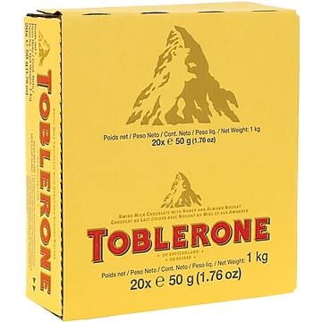 Toblerone Chocolate Bar 176 Oz Bars 20 Barsbox