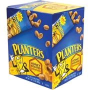 Planters® Honey Roasted Peanuts, 1.75 oz. Bags, 18/Box (07566)