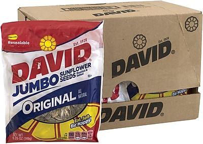 David Jumbo Seeds Original, 5.25 oz, 12 Count
