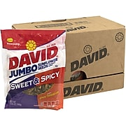 David Jumbo Seeds Sweet and Spicy, 5.25 oz, 12 Count