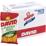 David Pumpkin Seeds, 2.25 oz, 12 Count