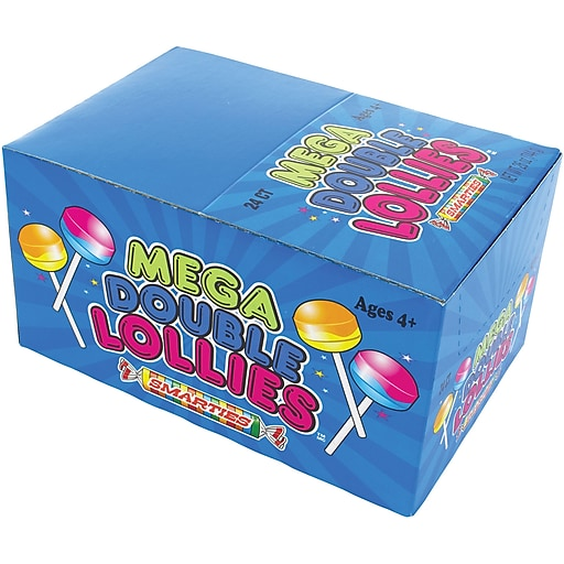 Mega Double Lollies Box: 24 Count Box