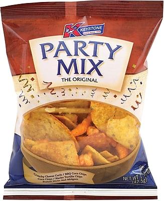 Keystone Party Mix, 1.5 oz, 36 Count