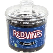Red Vines® Black Licorice Twists, 3.5 lb Jar