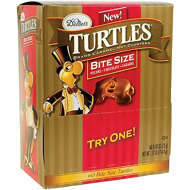 DeMet's Turtles Original Bite Size; 60 Pieces/Box