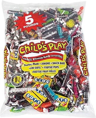 Tootsie Child Play Bag, 5 lb. Bulk