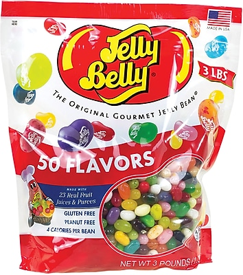 Jelly Belly 50 Assorted Beans, 3 lb. Bulk