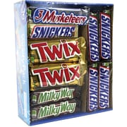 Mars Chocolate Bars Variety Pack, 30 Count (220-00085)