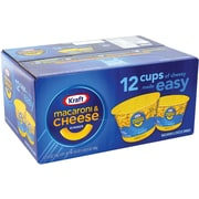 Kraft Mac & Cheese Easy Mac Cups 12 Count (02587)