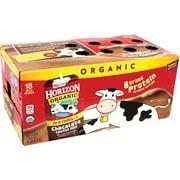 Horizon Organic Chocolate Low-Fat Milk, 8 fl oz, 18 Count