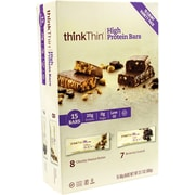 thinkTHIN High Protein Bars, 60 g Bars, 15 Count
