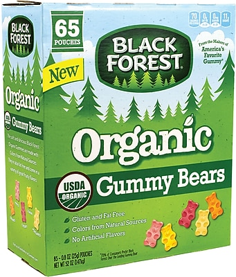 Black Forest Organic Gummy Bears, 0.8 oz, 65 Count