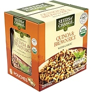 Seeds of Change Quinoa & Brown Rice with Garlic, 8.5 oz, 6 Count