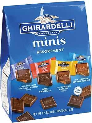 Ghirardelli Chocolate Minis Assortment, 17.4 oz