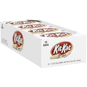 KIT KAT® Wafer Bars with White Creme, 1.5 oz, 24 Count