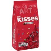 KISSES Milk Chocolates, Red, 17.6 oz., 2 Pack (10069)