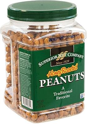 Superior Nut Honey Roasted Peanuts, 32 oz