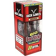 Jack Link's Big Beef Sticks, .92 oz, 20 Count