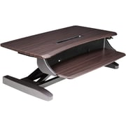 ErgotronHome Workspace Lift101 Chocolate Adjustable Standing Desk