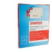 "Staples® Inkjet Business Cards, Matte Ivory, 2"" x 3 1/2"", 500/Pack (12528)"