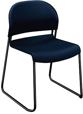 HON GuestStacker High-Density Stacking Chair, Regatta Shell NEXT2018 NEXTExpress