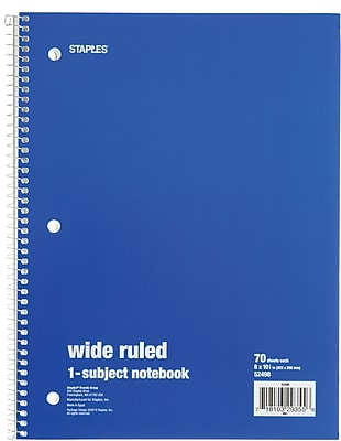 Staples notebook coupons