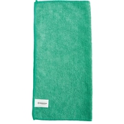 "Brighton Professional™ All Purpose Green Microfiber Cloths, 16""W x 16""L, Pack of 12 (BPR52878)"