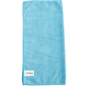 "Brighton Professional™ All Purpose Blue Microfiber Cloths, 16""W x 16""L, Pack of 12 (BPR45466)"