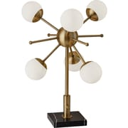 Adesso LED Doppler Table Lamp Brass (4270-21)