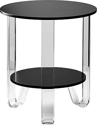Adesso Jordan Accent Table Black (WK2067-01)